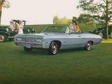 Chevrolet Impala Convertible (16467) 1968 pictures