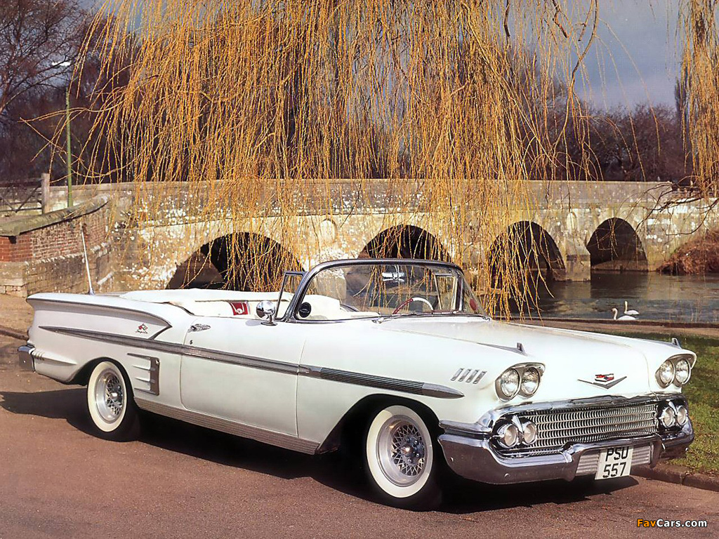 All Chevy 58 chevy bel air : Images of Chevrolet Bel Air Impala Convertible 1958 (1024x768)