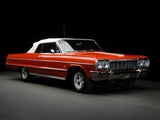 Images of Chevrolet Impala Convertible (17/18-67) 1964