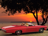 Images of Chevrolet Impala Convertible (16467) 1968