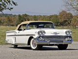Photos of Chevrolet Bel Air Impala Convertible (F1867) 1958