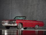 Photos of Chevrolet Impala SS Convertible (13/14-67) 1964