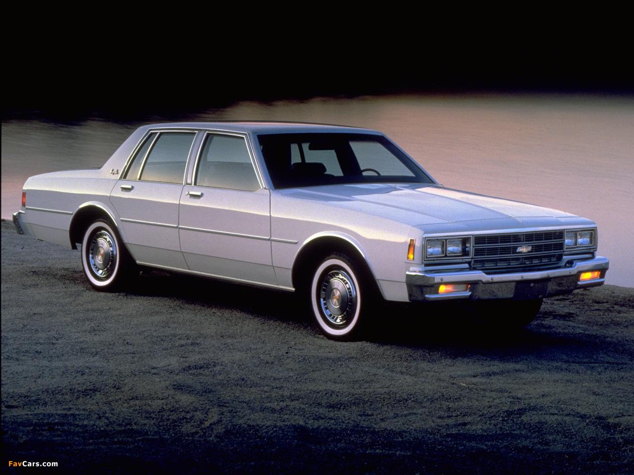 Photos Of Chevrolet Impala 1980 85 1280x960