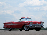 Pictures of Chevrolet Bel Air Impala Convertible (F1867) 1958