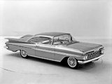 Pictures of Chevrolet Impala Sport Coupe 1959
