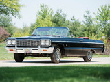Pictures of Chevrolet Impala SS Convertible (13/14-67) 1964