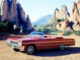 Pictures of Chevrolet Impala Convertible (17/18-67) 1964