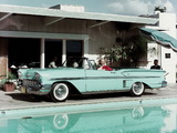 Chevrolet Bel Air Impala Convertible (F1867) 1958 wallpapers