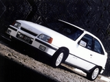 Pictures of Chevrolet Kadett GS 3-door 1989–91