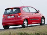 Chevrolet Kalos 3-door (T200) 2003–08 photos