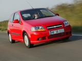 Chevrolet Kalos 3-door (T200) 2003–08 pictures
