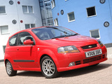 Chevrolet Kalos Sport UK-spec (T200) 2003–08 wallpapers