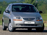 Chevrolet Kalos Sedan (T200) 2003–06 wallpapers