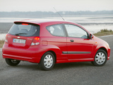 Photos of Chevrolet Kalos 3-door (T200) 2003–08