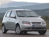 Photos of Chevrolet Kalos 5-door (T200) 2003–08