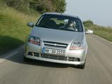 Pictures of Chevrolet Kalos 3-door (T200) 2003–08