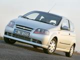 Chevrolet Kalos 3-door (T200) 2003–08 wallpapers