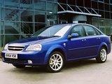 Chevrolet Lacetti Sedan CDX UK-spec 2004–11 photos