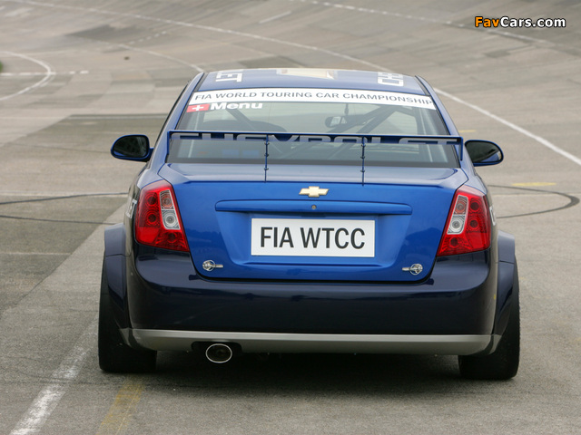 Chevrolet Lacetti WTCC 2005 pictures (640 x 480)