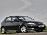 Images of Chevrolet Lacetti Hatchback Sport UK-spec 2005–11