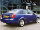 Pictures of Chevrolet Lacetti Sedan CDX UK-spec 2004–11
