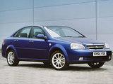 Chevrolet Lacetti Sedan CDX UK-spec 2004–11 wallpapers