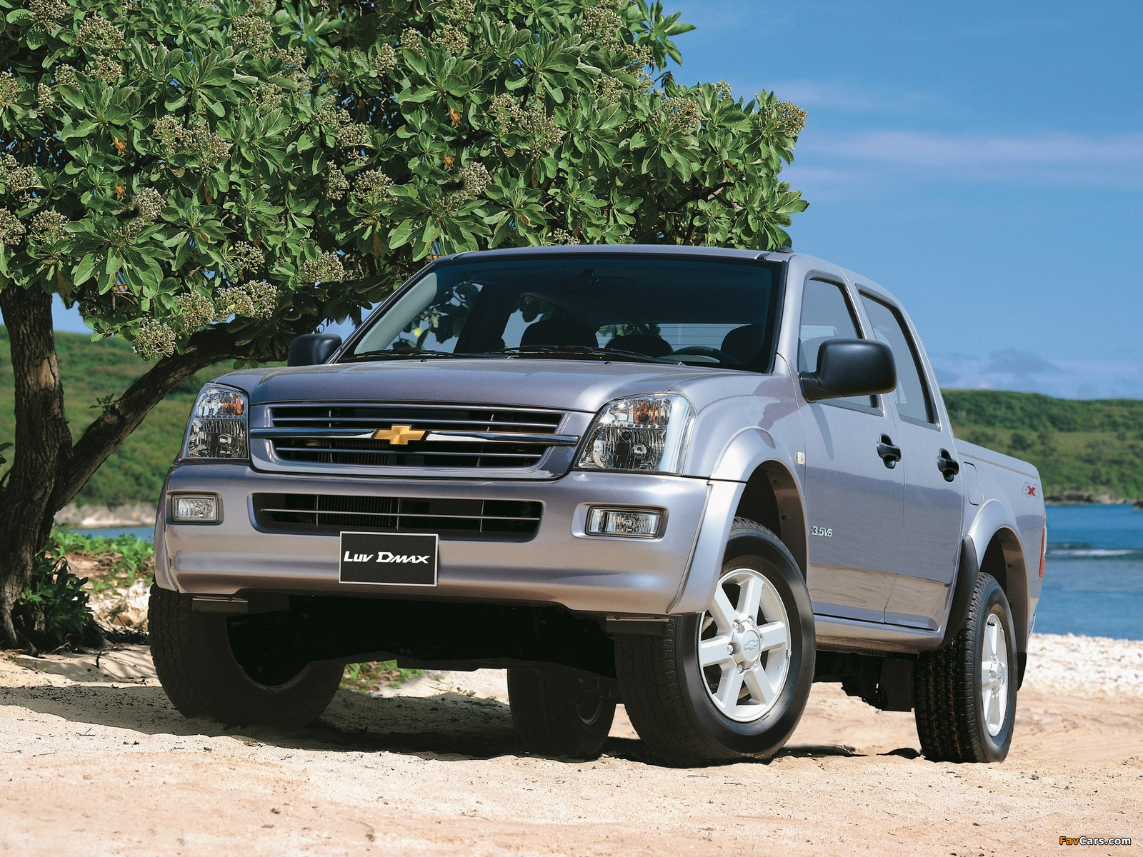 Chevrolet luv d max 2005 06 wallpapers