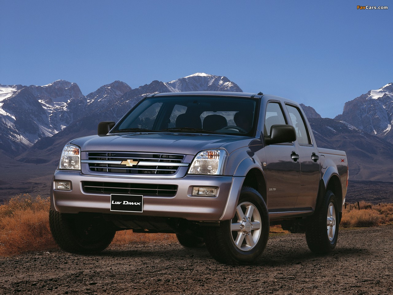 Photos of chevrolet luv d max 2005 06