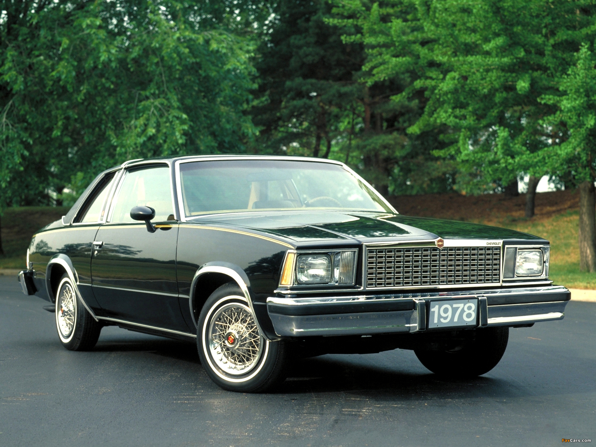 Chevrolet Malibu Classic Landau Coupe 1978 photos (2048 x 1536)