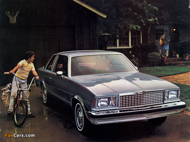 Chevrolet Malibu Classic Landau Coupe 1978 wallpapers (640 x 480)