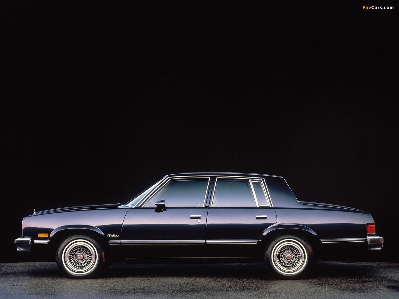 Chevrolet Malibu Classic 1983 pictures (1280 x 960)