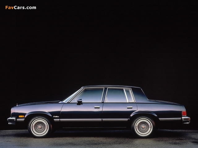 Chevrolet Malibu Classic 1983 pictures (640 x 480)