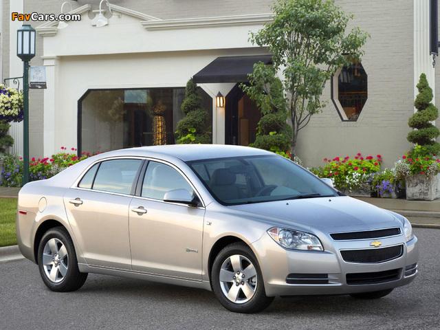 Chevrolet Malibu Hybrid 2008–11 images (640 x 480)