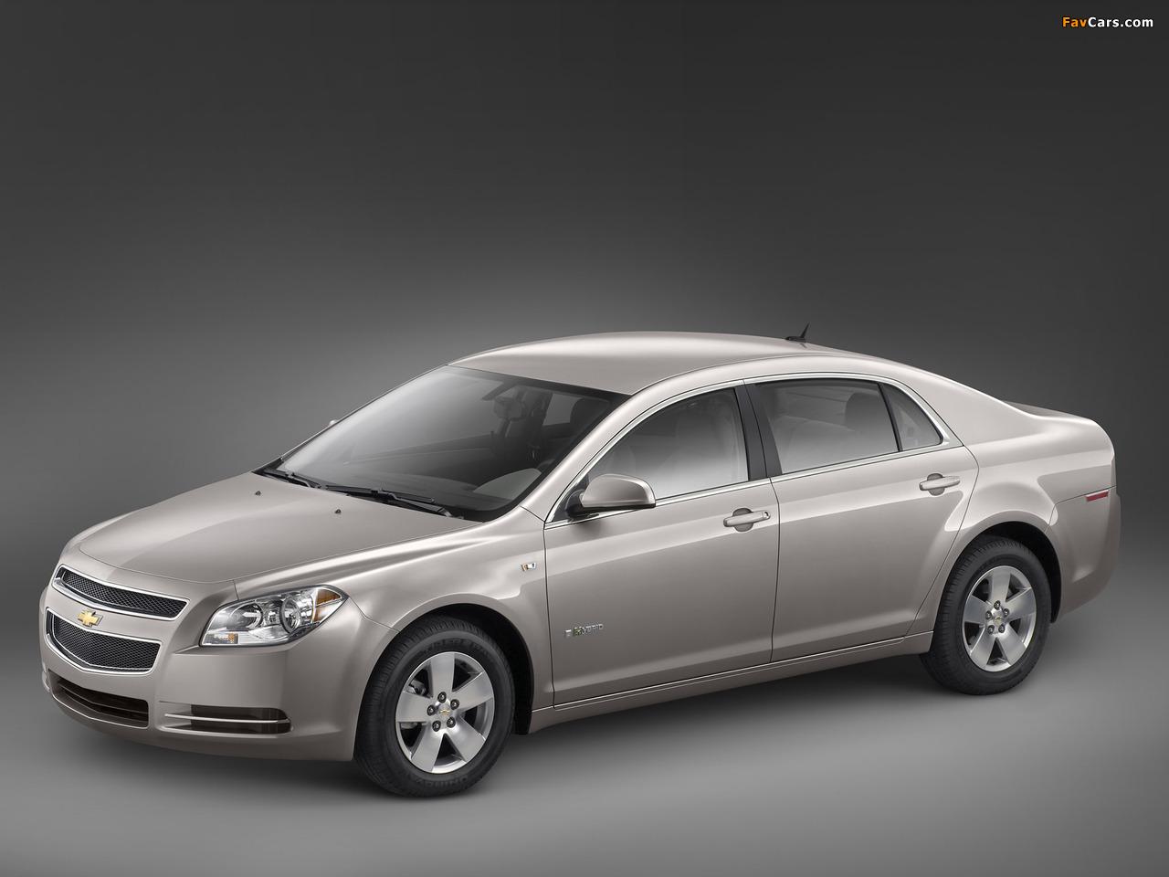 Photos of Chevrolet Malibu Hybrid 2008–11 (1280 x 960)