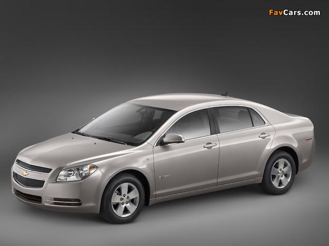 Photos of Chevrolet Malibu Hybrid 2008–11 (640 x 480)
