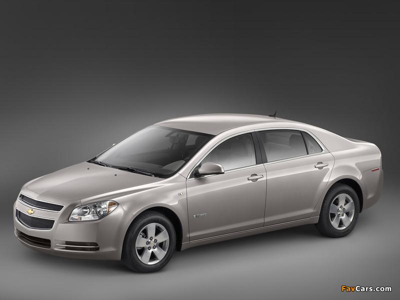 Photos of Chevrolet Malibu Hybrid 2008–11 (800 x 600)