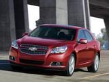Photos of Chevrolet Malibu LTZ 2011–13