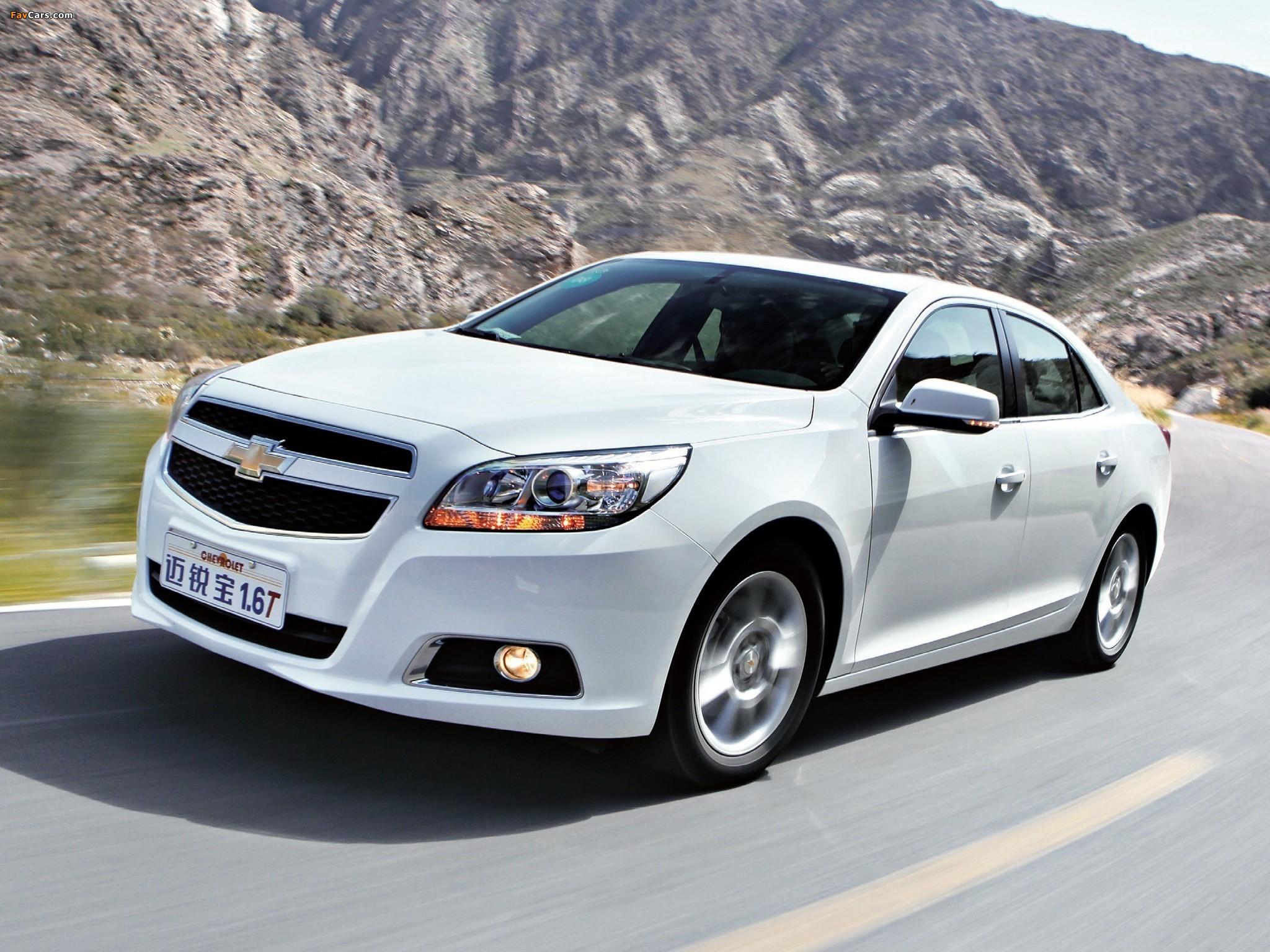 Photos of Chevrolet Malibu LTZ CN-spec 2011 (2048 x 1536)