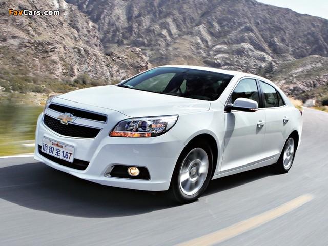Photos of Chevrolet Malibu LTZ CN-spec 2011 (640 x 480)