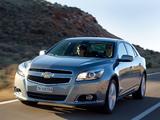 Photos of Chevrolet Malibu EU-spec 2012