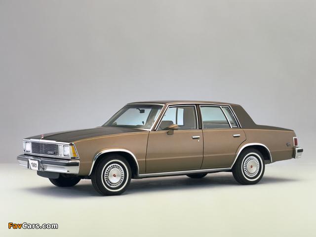 Pictures of Chevrolet Malibu Classic Sedan 1981 (640 x 480)