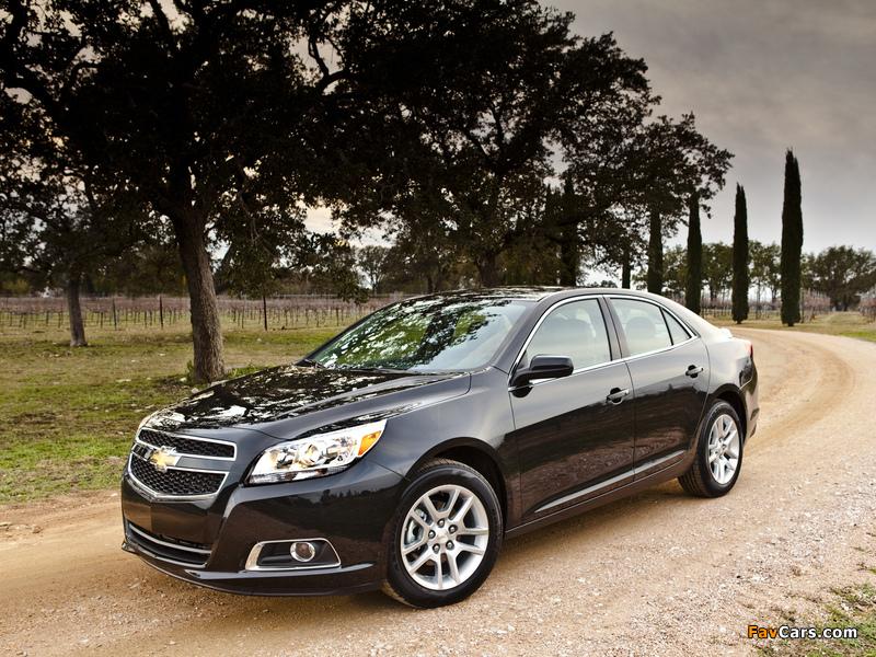 Pictures of Chevrolet Malibu ECO 2011 (800 x 600)