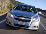 Pictures of Chevrolet Malibu EU-spec 2012