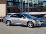 Chevrolet Malibu EU-spec 2012 wallpapers