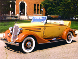 Pictures of Chevrolet Master Sport Roadster 1934