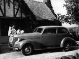 Chevrolet Master 85 2-door Town Sedan (JB) 1939 wallpapers