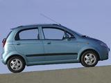 Images of Chevrolet Matiz (M200) 2005–07