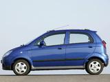 Photos of Chevrolet Matiz (M250) 2007–10