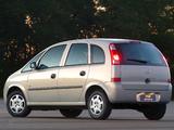 Chevrolet Meriva 2002–08 pictures