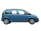 Chevrolet Meriva MX-market 2007–08 wallpapers